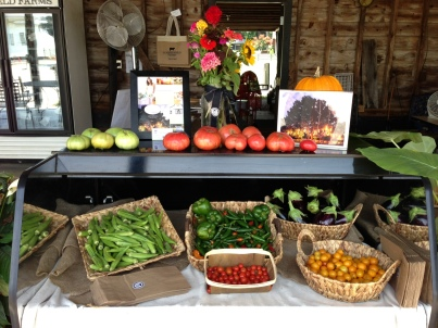 Late summer produce at The Market at Summerfield Farms. Photo provided by Summerfield Farms, taken by Joey Seawell