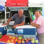 Bobby & Mike from Coltrane & Faucette Farms, respectively